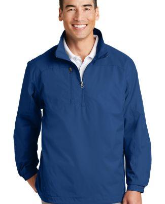 Port Authority 12 Zip Wind Jacket J703 True Blue