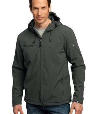 Port Authority Textured Hooded Soft Shell Jacket J706 Catalog