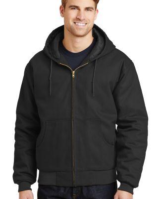CornerStone Duck Cloth Hooded Work Jacket J763H Black