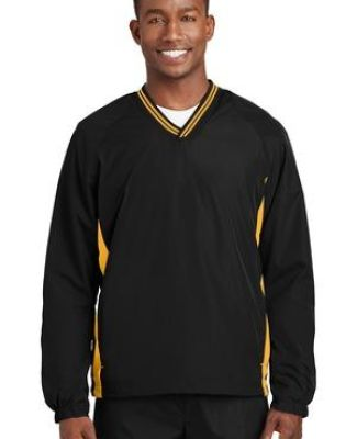 Sport Tek Tipped V Neck Raglan Wind Shirt JST62 Catalog