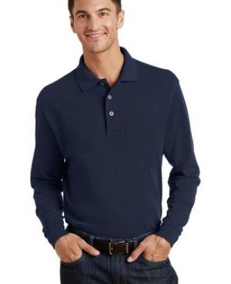 Port Authority Long Sleeve Pique Knit Polo K320 Catalog