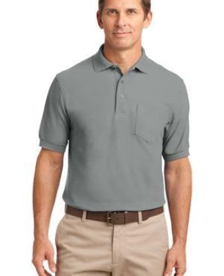 Port Authority Silk Touch153 Polo with Pocket K500P Catalog