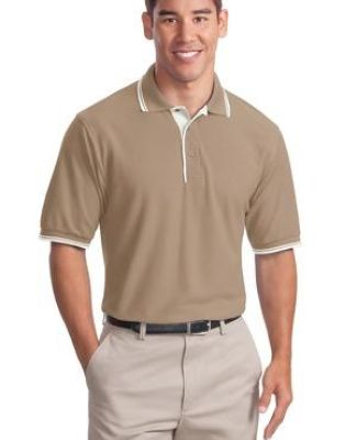 Port Authority Silk Touch153 Polo with Stripe Trim K501 Catalog