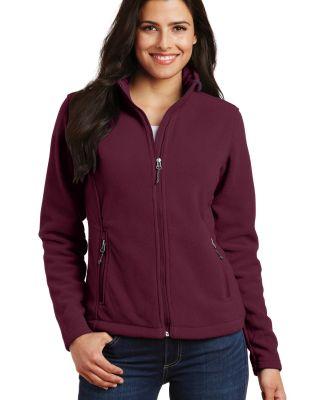 Port Authority Ladies Value Fleece Jacket L217 Maroon