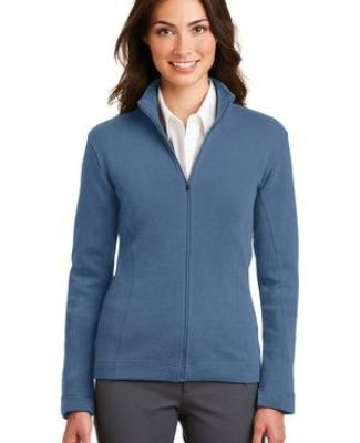 Port Authority Ladies Flatback Rib Full Zip Jacket L221 Catalog