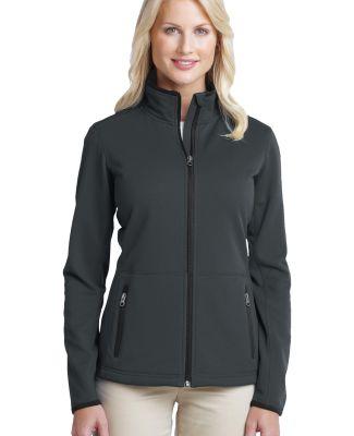 Port Authority Ladies Pique Fleece Jacket L222 Graphite