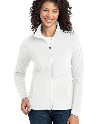 Port Authority Ladies Microfleece Jacket L223 White