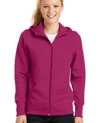Sport Tek Ladies Full Zip Hooded Fleece Jacket L265 Catalog