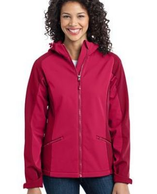 Port Authority Ladies Gradient Hooded Soft Shell Jacket L312 Catalog