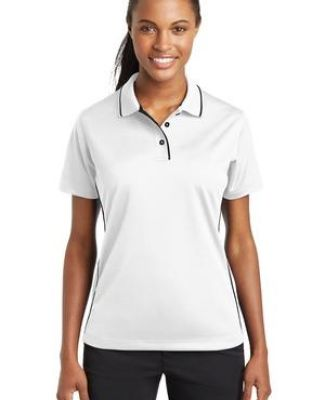 Sport Tek Ladies Dri Mesh Polo with Tipped Collar and Piping L467 Catalog