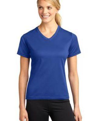 Sport Tek Dri Mesh Ladies V Neck T Shirt L468V Catalog