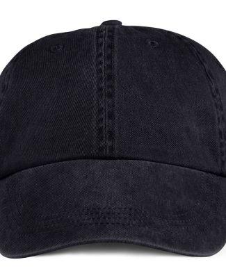Anvil 146 Pigment-Dyed Unstructured Dad Hat Black
