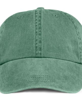 Anvil 146 Pigment-Dyed Unstructured Dad Hat Ivy