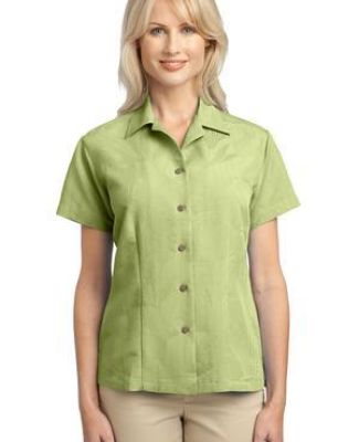 Port Authority Ladies Patterned Easy Care Camp Shirt L536 Catalog