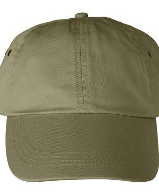 Anvil 156 Unstructured Twill Dad Hat Khaki