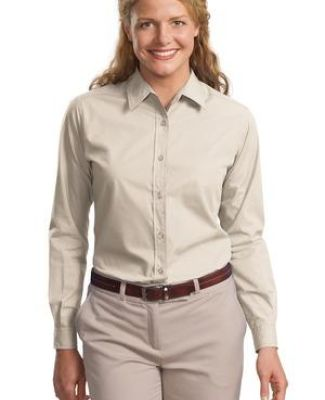 Port Authority Ladies Long Sleeve Easy Care  Soil Resistant Shirt L607 Catalog
