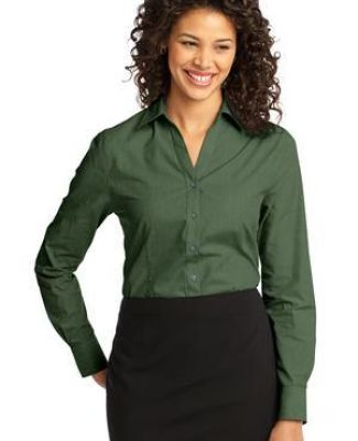 Port Authority Ladies Crosshatch Easy Care Shirt L640 Catalog