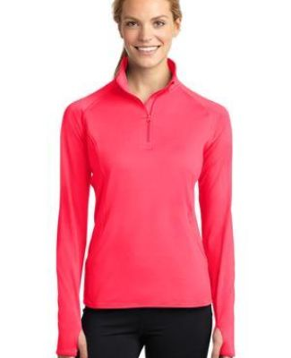 LST850 Sport Tek Ladies Sport Wick Stretch Zip Pullover  Catalog