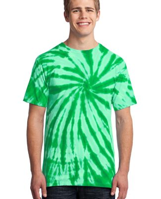 Port  Company Essential Tie Dye Tee PC147 Kelly