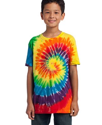 Port  Company Youth Essential Tie Dye Tee PC147Y Catalog