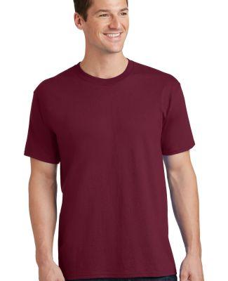 Port  Company PC54 5.4 oz 100 Cotton T Shirt  Cardinal