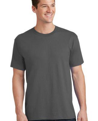 Port  Company PC54 5.4 oz 100 Cotton T Shirt  Charcoal