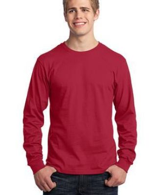Port  Company Long Sleeve 54 oz 100 Cotton T Shirt PC54LS Catalog