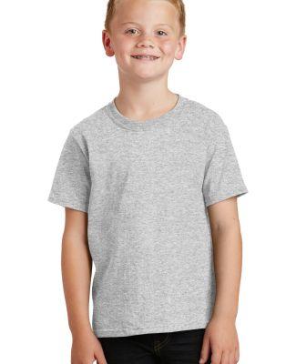 Port  Company Youth 54 oz 100 Cotton T Shirt PC54Y Ash