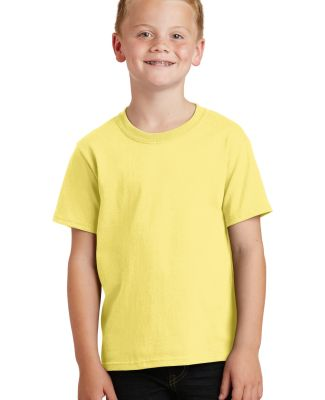 Port  Company Youth 54 oz 100 Cotton T Shirt PC54Y Yellow