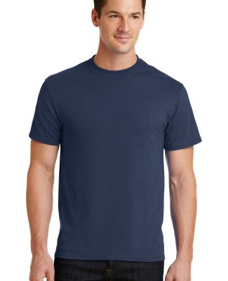 Port  Company 5050 CottonPoly T Shirt PC55 Navy