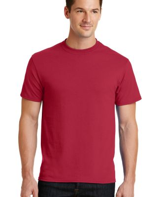 Port  Company 5050 CottonPoly T Shirt PC55 Red