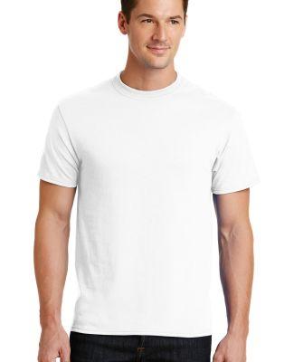 Port  Company 5050 CottonPoly T Shirt PC55 White