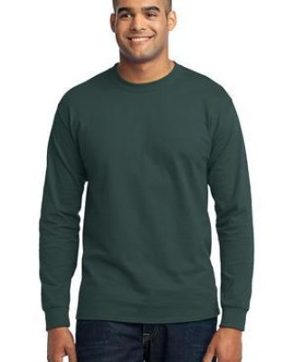 Port  Company Long Sleeve 5050 CottonPoly T Shirt PC55LS Catalog