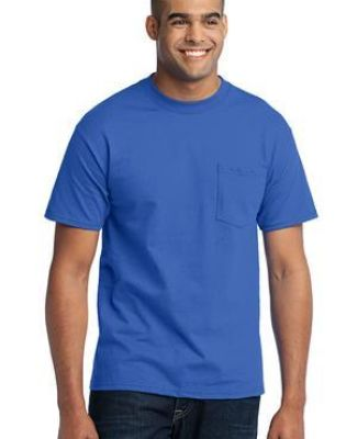 Port  Company 5050 CottonPoly T Shirt with Pocket PC55P Catalog