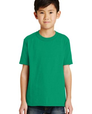 Port  Company Youth 5050 CottonPoly T Shirt PC55Y Kelly