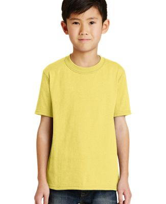 Port  Company Youth 5050 CottonPoly T Shirt PC55Y Yellow