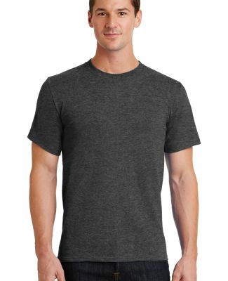 Port  Company Essential T Shirt PC61 Drk Hthr Grey