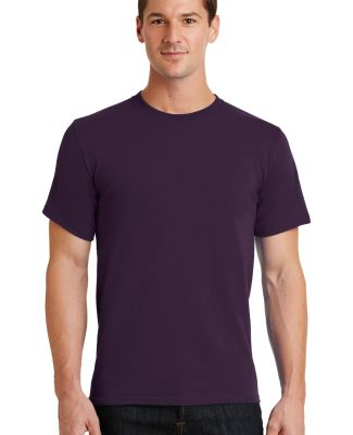 Port  Company Essential T Shirt PC61 Eggplant