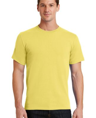 Port  Company Essential T Shirt PC61 Yellow