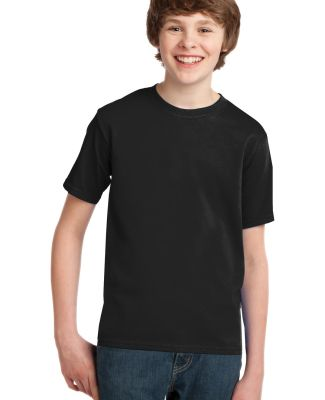 Port  Company Youth Essential T Shirt PC61Y Jet Black