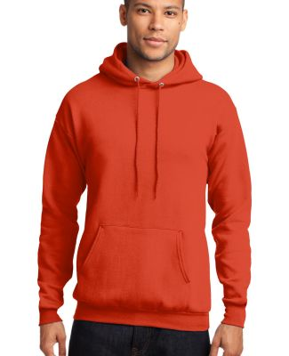 Port  Company Classic Pullover Hooded Sweatshirt P Orange