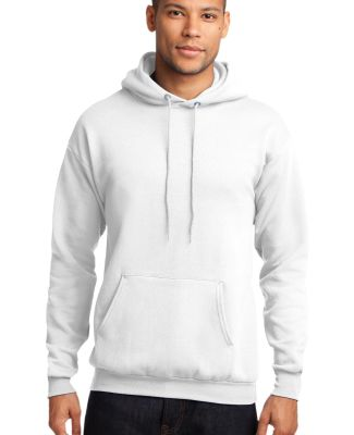Port  Company Classic Pullover Hooded Sweatshirt P White