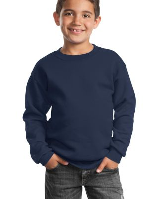 Port  Company Youth Crewneck Sweatshirt PC90Y Navy