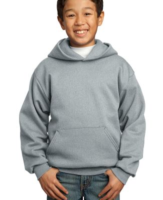Port  Company Youth Pullover Hooded Sweatshirt PC9 Ath. Heather