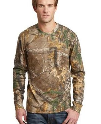 Russell Outdoors 8482 Realtree Long Sleeve Explorer 100 Cotton T Shirt with Pocket S020R Catalog