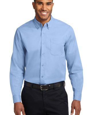 Port Authority Long Sleeve Easy Care Shirt S608 Lt Blue/Lt Stn
