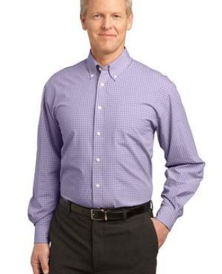 Port Authority Plaid Pattern Easy Care Shirt S639 Catalog