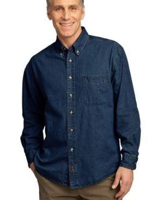 Port  Company Long Sleeve Value Denim Shirt SP10 Catalog