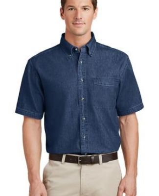 Port  Company Short Sleeve Value Denim Shirt SP11 Catalog