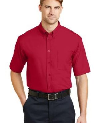 CornerStone Short Sleeve SuperPro Twill Shirt SP18 Catalog